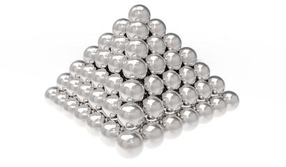 Pyramida silver