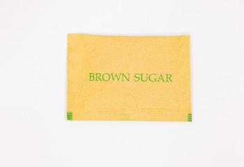 Sugar brown packet