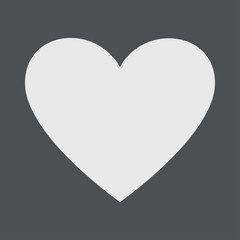 Heart Love Passion Friendship Family Icon Vector Concept