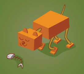 robotic cat two