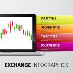 Exchange infographics