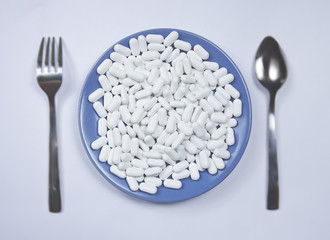Pills instead of food