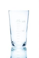Temperature resistant conical beaker for measurements 100ml