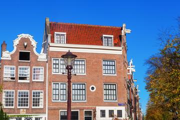 Hausfassaden in Amsterdam