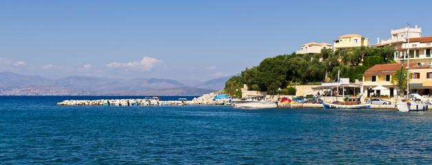 Kassiopi bay on Corfu island - Greece