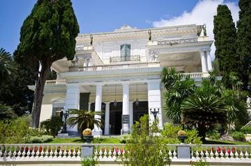 Achillion palace on Corfu island, Greece