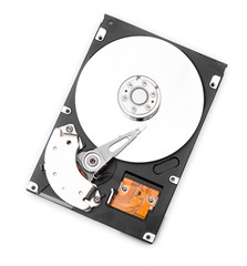 HDD on whitre