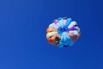 vol en parachute ascensionnel