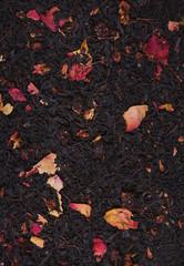 Чайные листья - зеленый чай и черный чай