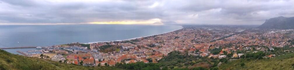 Veduta di Terracina - Latina - Lazio - Italia