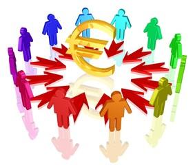 begehrter Euro, Hoffnung auf finanziellen Erfolg