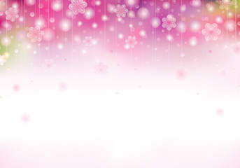 Spring blossom pink background with blurred flowers. 1501sprngmt