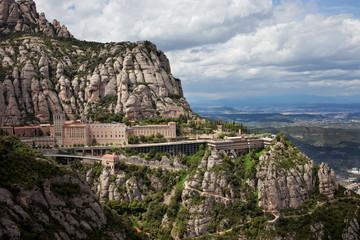 Montserrat Monastery and Mountain in Catalonia