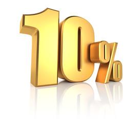 Gold 10 Percent