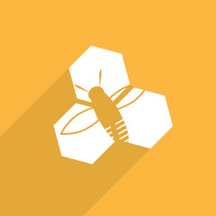 honey cells web icon
