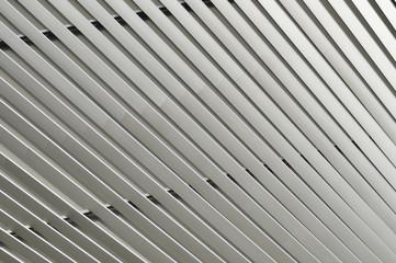 Detail of pattern metal facade