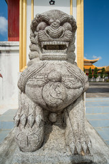 Chinese marble lion decoration