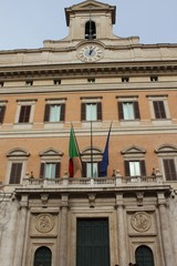 Montecitorio Palace, Rome, Italy