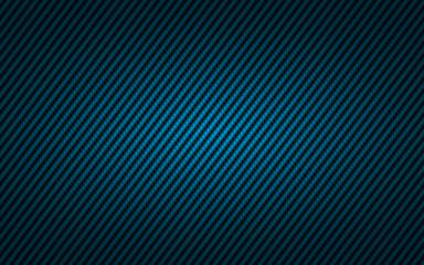 Biseau carbone bleu