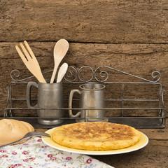 Omelette from spain