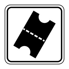 Logo ticket.