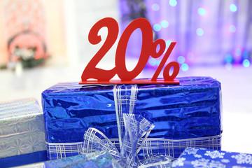 Новогодний подарок. Скидка 20 процентов