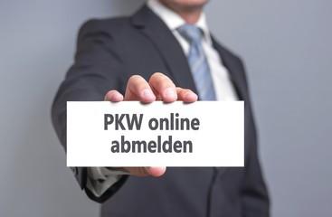 PKW Abmeldung online