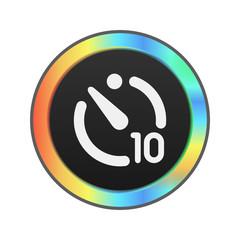 Colorful Web Button