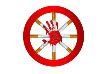 Don't Smoke - Rauchen verboten