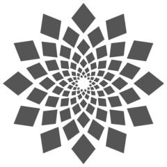 Abstract Squares Circular Element