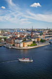 View over Stockholm city