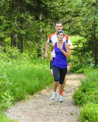 motivierte Läufer
