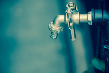 the stainless faucet