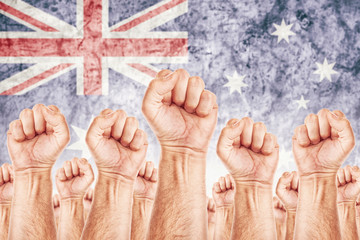 Australia Labour movement, workers union strike