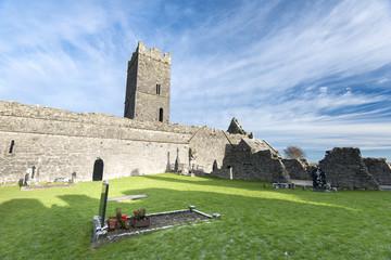 Clarecastle Abbey in Ireland