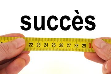 La mesure du succès