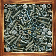 Screws, collection of products