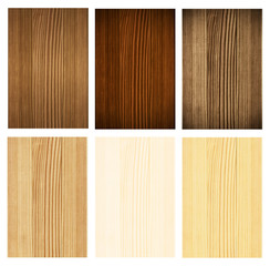 Collection wooden panel