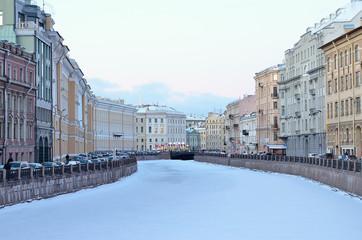 Saint Petersburg, Russia in winter
