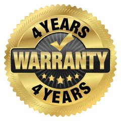 4 years warranty