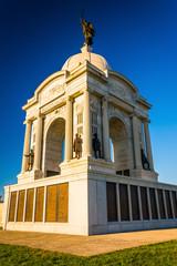 The Pennsylvania Monument in Gettysburg, Pennsylvania.