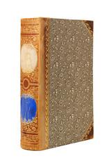 Vintage encyclopedia isolated on white