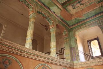 une salle d'Haveli