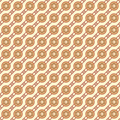 Seamless Crescent Pattern