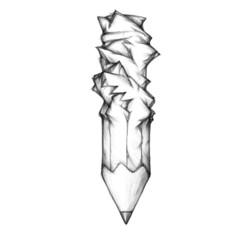 Stift unter Druck
