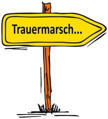 Trauermarsch...