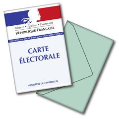 CARTE LECTEUR- BULLETIN DE VOTE