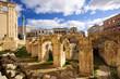 Leinwandbild Motiv Lecce Anfiteatro Romano