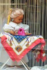 Laden Schaufenster Textilreinigung