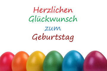 Geburtstag an Ostern